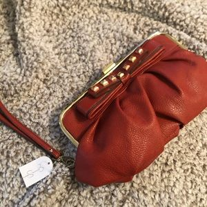 Jessica Simpson Clutch & Key Ring/Card Holder